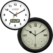 La Crosse Analog Wall Clocks