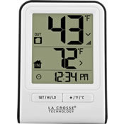 Outdoor Digital Clocks And Thermometers