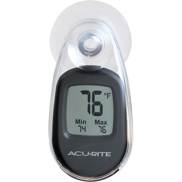 Suction Cup Digital Window Thermometer