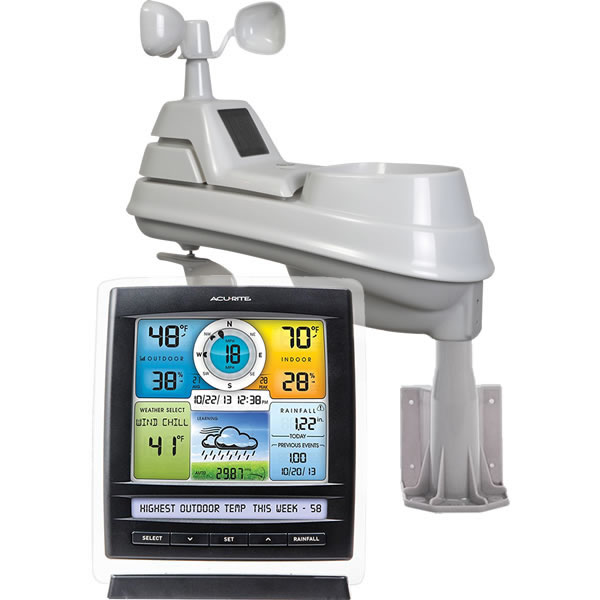AcuRite 01512M - AcuRite 01512, AcuRite 01512 Complete Wireless Color Weather Station
