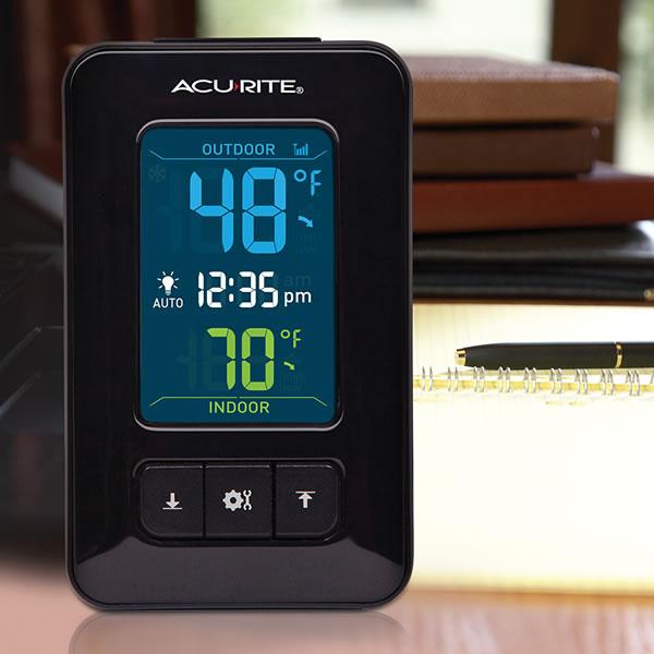 AcuRite Wireless Color Temperature Station, AcuRite 02023 ...