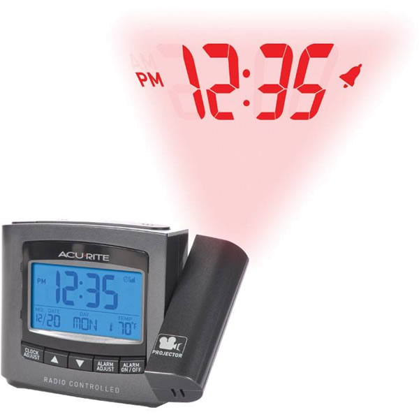 Acurite 13239 Projection Alarm Clock W Temperature