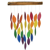 Gift Essentials Glass Waterfall Wind Chime - Rainbow