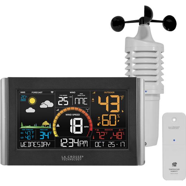 La Crosse V21-WTH Wireless Weather Station with Wind Speed
