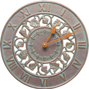 Whitehall Ivy Wall Clock