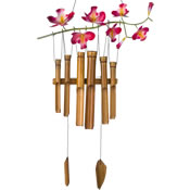 Woodstock Cherry Blossom Bamboo Chime