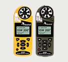 Handheld Wind and Weather Meters